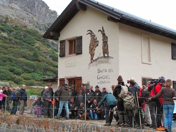 Inauguirata la Baita del Ghigel (inserita in galleria)