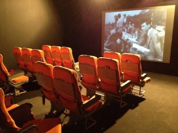 Inaugurato a Volandia il cinema storico (inserita in galleria)