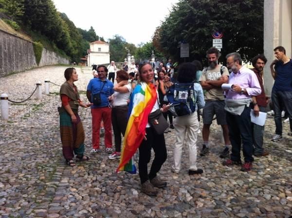 La marcia della Pace al Sacro Monte  (inserita in galleria)