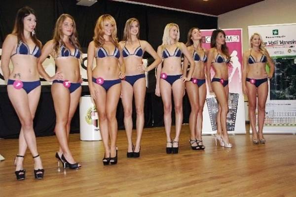 Miss ciclismo a Somma Lombardo (inserita in galleria)