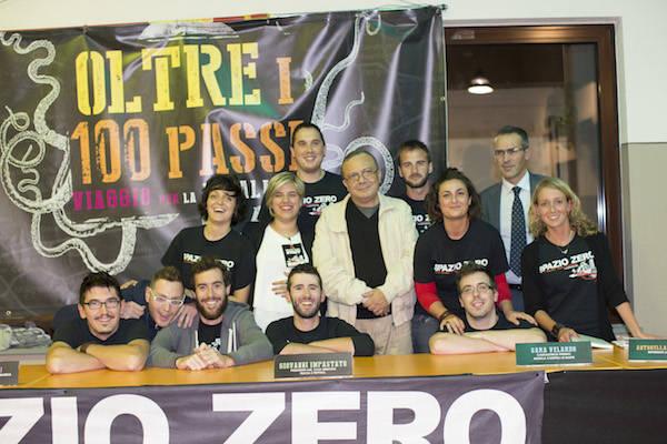 Oltre i 100 passi, i giovani di Spazio Zero contro la mafia (inserita in galleria)