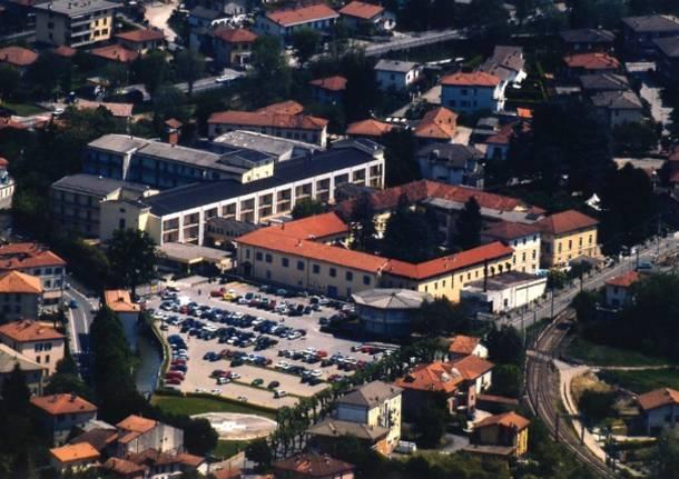 ospedale di cittiglio veduta aerea