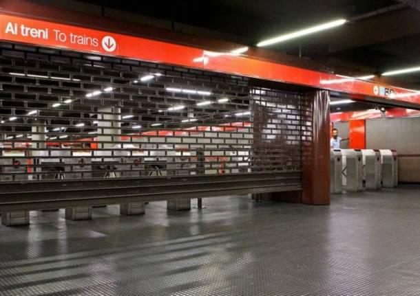 Milano sciopero del personale ATM