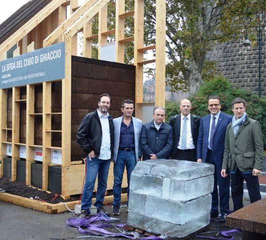 """Costruiscono case in legno e hanno vinto la """"sfida del ghiaccio"""" (inserita in galleria)"""