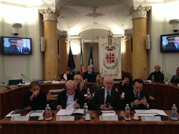 Il nuovo Consiglio provinciale (inserita in galleria)