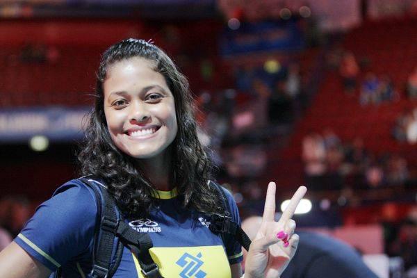 Il pregara Usa Brasile ai Mondiali di volley (inserita in galleria)