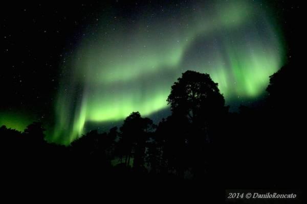 In Lapponia a caccia di aurore boreali (inserita in galleria)