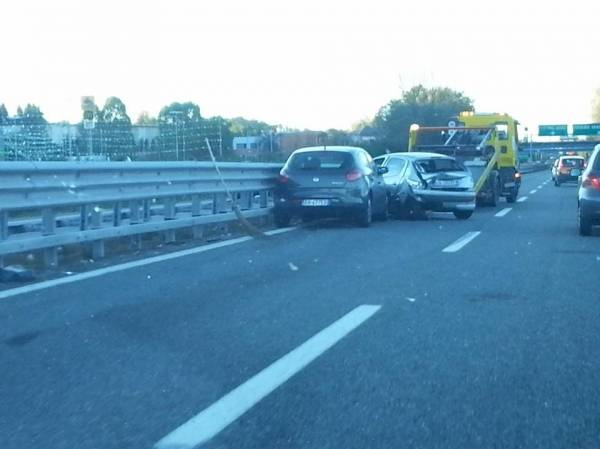 Incidente in A8, code e traffico intenso (inserita in galleria)