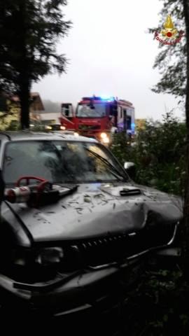Incidente stradale in Valcuvia (inserita in galleria)
