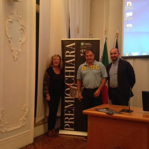 La Elmec protagonista al Premio Chiara (inserita in galleria)