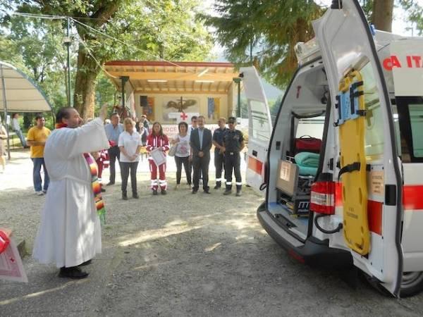 La nuova ambulanza in Valceresio (inserita in galleria)