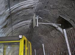 Nel cantiere della ferrovia Alptransit (inserita in galleria)