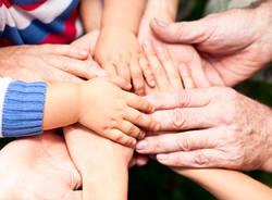 nonni festa mani bambini