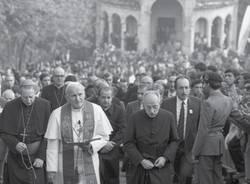 papa woytila giovanni paolo II sacro monte varese