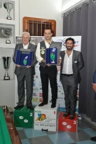 Premiazione Circuito Memorial di biliardo (inserita in galleria)