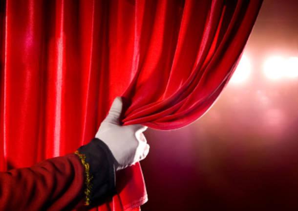 sipario teatro palco