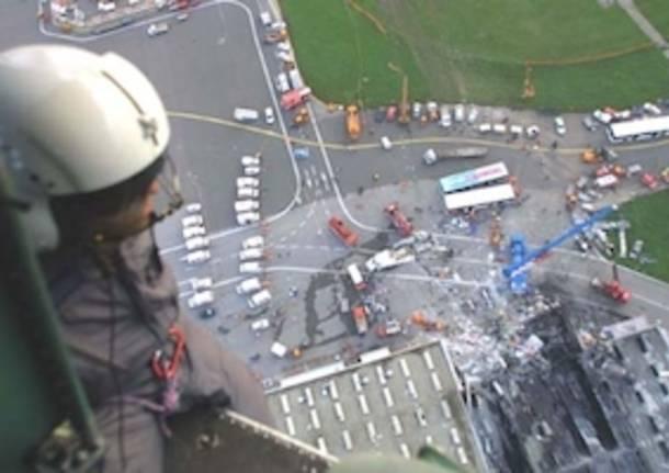 Aereo Privato Linate : Strage di linate la celebrazione a anni dal disastro