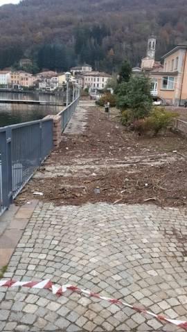 A Porto Ceresio il lago si ritira (inserita in galleria)