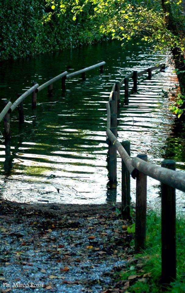 Al Gurée di Monvalle Esonda il Lago Maggiore