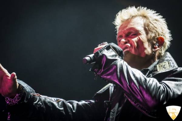 Billy Idol in concerto al Messe di Luzern  (inserita in galleria)