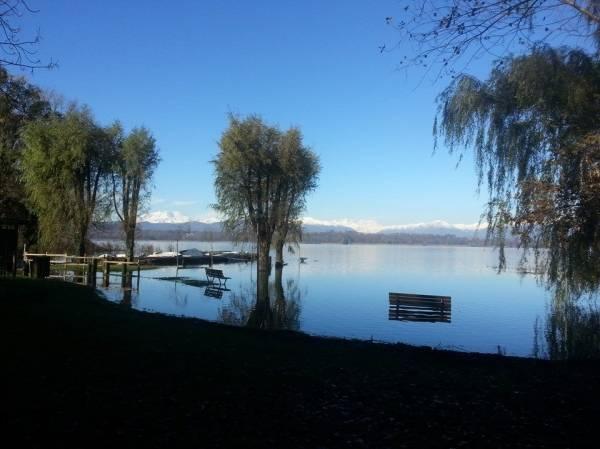 Cazzago Brabbia, l'area del lago a mollo (inserita in galleria)