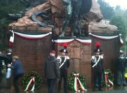 commemorazione 4 novembre caduti milite ignoto varese piazza repubblica