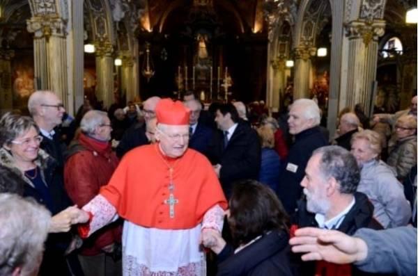 Il Cardinale Scola al Sacro Monte (inserita in galleria)