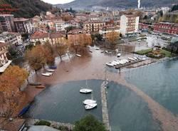 Il lago uscito a Laveno, Caldè e Cerro (inserita in galleria)