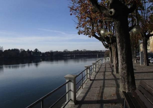 Il Ticino a Sesto Calende (inserita in galleria)