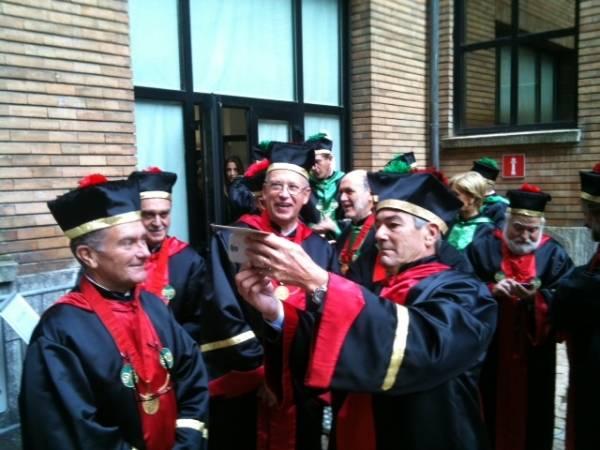Inaugurazione anno accademico all'Insubria (inserita in galleria)