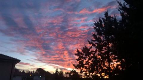 L'alba di Cantello