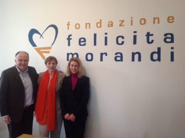 La nuova sede della Fondazione Felicita Morandi (inserita in galleria)