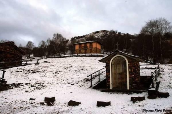 La prima neve in val Veddasca (inserita in galleria)