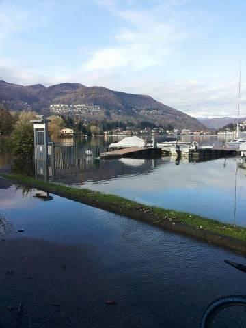 Lago, la situazione a Lavena Ponte Tresa  (inserita in galleria)