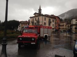 Livello alto del Lago Maggiore a Laveno Mombello (inserita in galleria)
