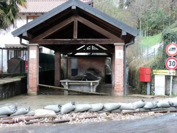 Maltempo, i problemi a Cassano Valcuvia (inserita in galleria)