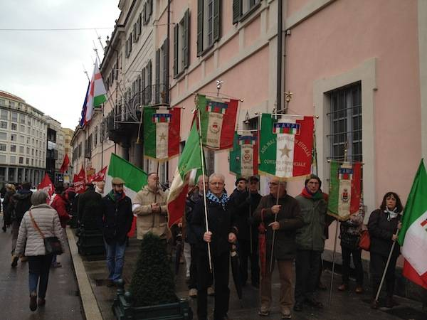 Manifestazione antifascista a Varese  (inserita in galleria)