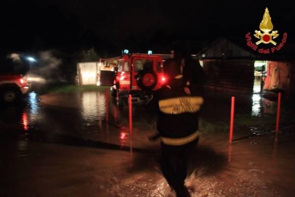 Monetgrino Valtravaglia, evacuate 120 persone  (inserita in galleria)