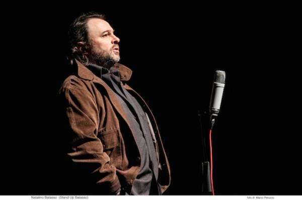 Natalino Balasso apre la stagione Variety del teatro Pasta (inserita in galleria)