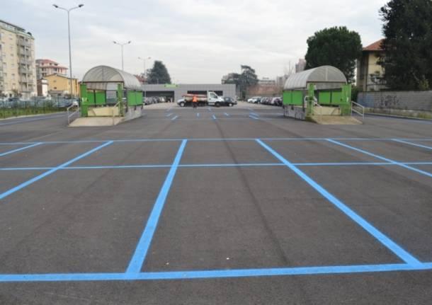 parcheggio pagamento busto arsizio strisce blu stazione nord
