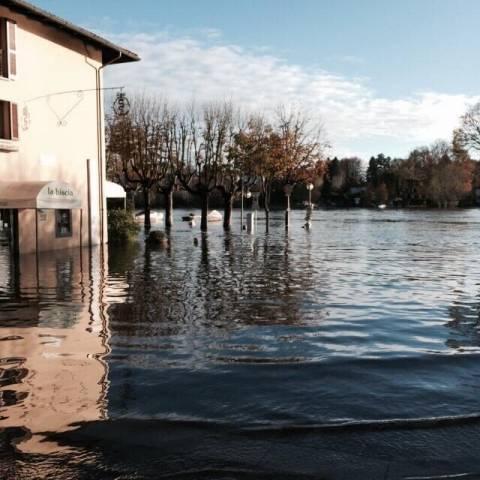 Sesto Calende, l'alluvione (inserita in galleria)