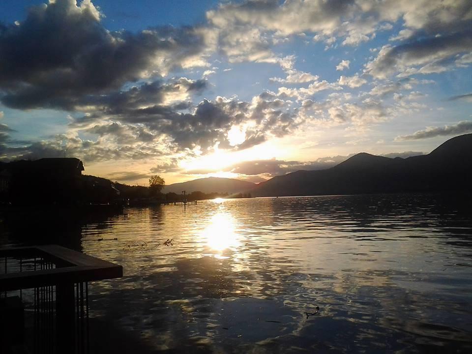 Un tramonto che sembra un alba