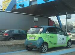 car sharing e-vai autostrada