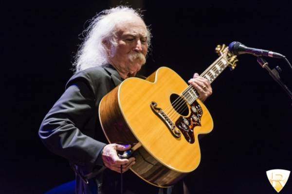 David Crosby in concerto a Como  (inserita in galleria)