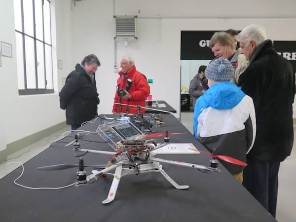 I droni a Volandia (inserita in galleria)