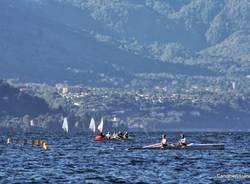 """Il """"coastal rowing"""" sul Lago Maggiore (inserita in galleria)"""