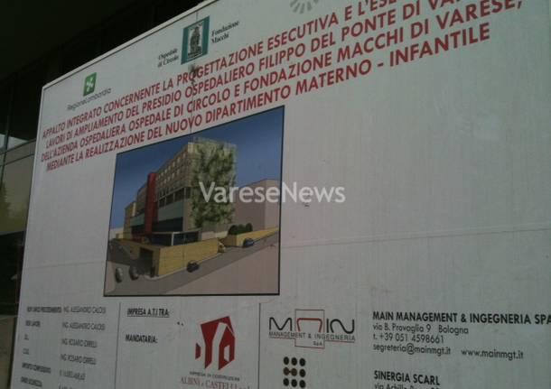 il futuro ospedale del bambino di Varese