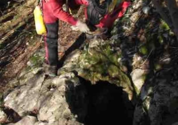 Viaggio nel ventre della terra alla grotta Schiaparelli (inserita in galleria)