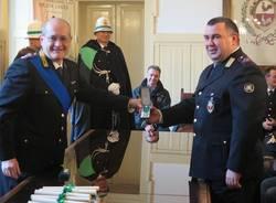 Agenti di Polizia Locale premiati a Gallarate (inserita in galleria)