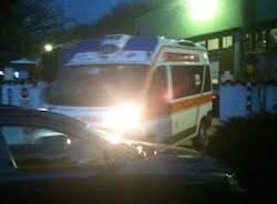 ambulanza varese incidente sul lavoro